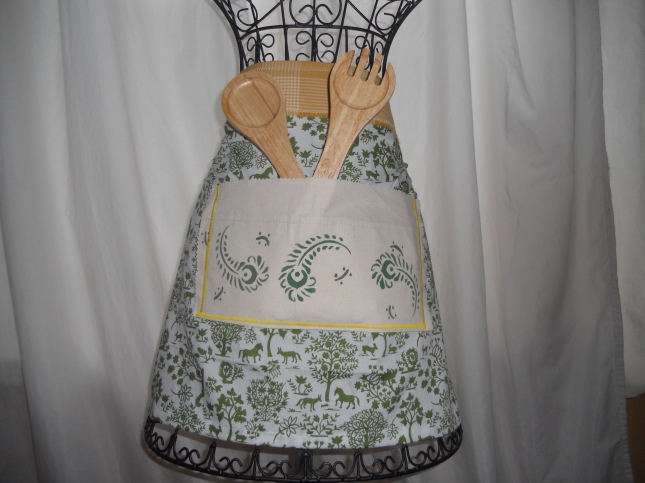 Recycled Utility Apron