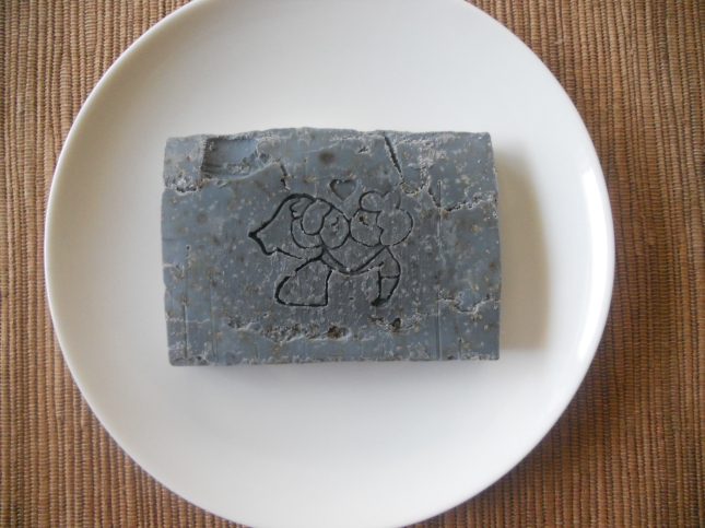 Rustic Charcoal & Basil Soap for oily skin
